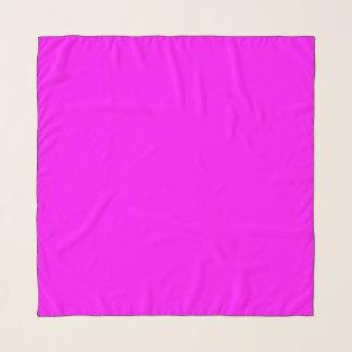 """Echarpe fúcsia roxo 36"""" x 36"""" lenço quadrado,"""