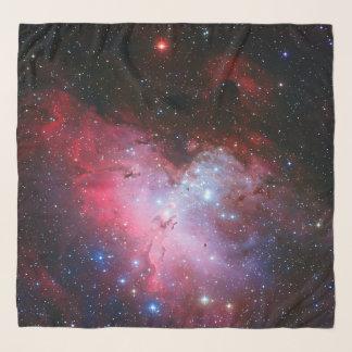 Echarpe Imagem do espaço da nebulosa de Eagle