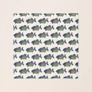 Echarpe Lenço do Chiffon da agitação do Piranha (escolha a