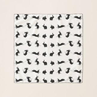 Echarpe Lenço do Chiffon dos coelhos de Binky (escolha a