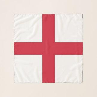 Echarpe Lenço quadrado com a bandeira de Inglaterra, Reino