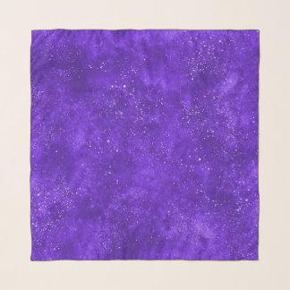 Echarpe Lenço UV do quadrado da galáxia