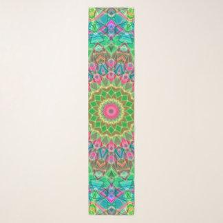 Echarpe Mandala geométrica G18 do lenço longo