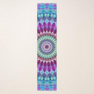 Echarpe Mandala geométrica G382 do lenço longo