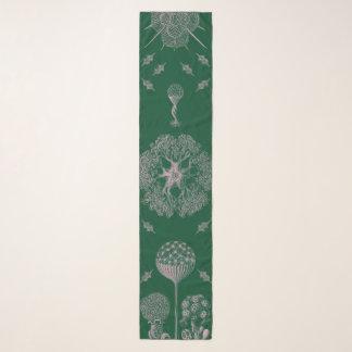 Echarpe O verde de Haeckel