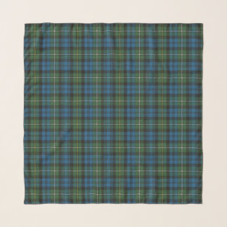 Echarpe Tartan escocês antigo do clã de Campbell Argyll