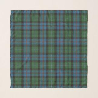 Echarpe Tartan escocês antigo do clã de Campbell Cawdor