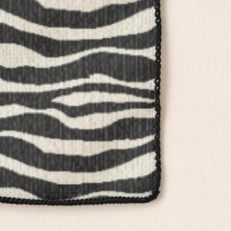 Echarpe Teste padrão da listra da zebra