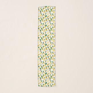 Echarpe Teste padrão na moda do abacaxi