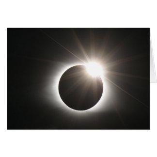 Eclipse - anel de diamante - cartão
