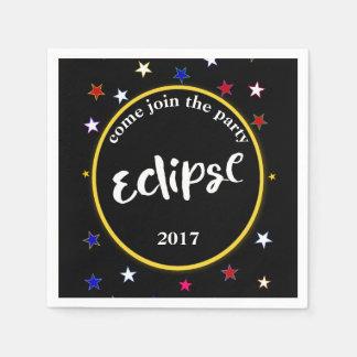 Eclipse e guardanapo do partido das estrelas