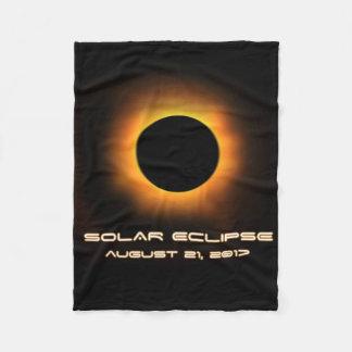 Eclipse solar cobertor de velo