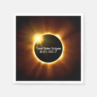 Eclipse solar total - guardanapo