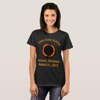 Eclipse solar total (Jackson, Wyoming) Camiseta