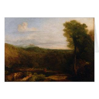 Eco e narciso, c.1804 cartoes