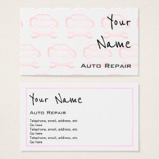 """""""Ecoa"""" cartões de visitas da reparação de"""