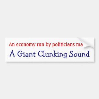 Economia funcionada pelo som clunking gigante dos  adesivo para carro
