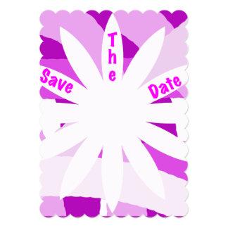 Economias cor-de-rosa da flor do Fest o convite da