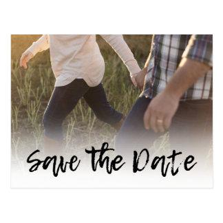 Economias Cursive dos convites | do casamento da Cartão Postal