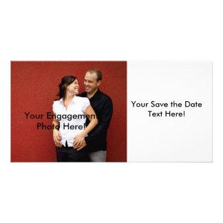 Economias customizáveis os cartões com fotos da da