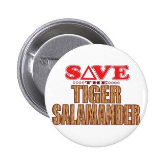 Economias da salamandra de tigre bóton redondo 5.08cm