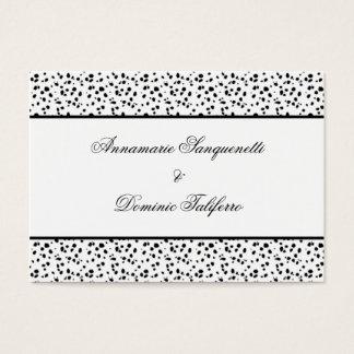 Economias Dalmatian do impressão a data Cartão De Visitas