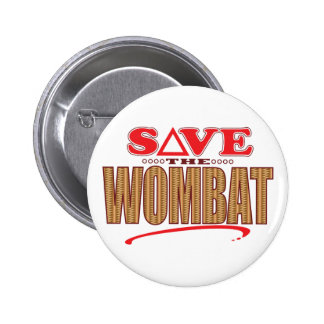 Economias de Wombat Bóton Redondo 5.08cm