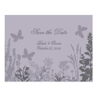 Economias do Belle do casamento o cartão da data