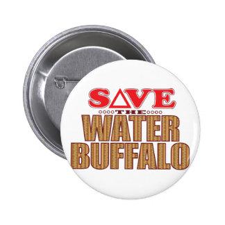 Economias do búfalo de água bóton redondo 5.08cm