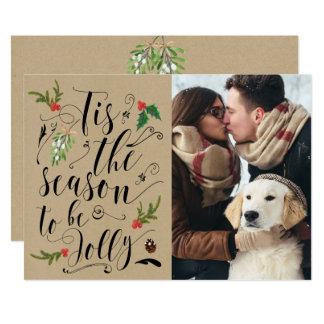 Economias do inverno do Natal o convite do cartão