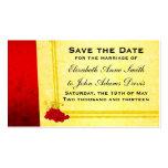 Economias do vinho tinto do vintage o cartão de da cartao de visita