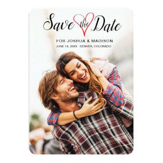 Economias doces do romance o cartão do coração da