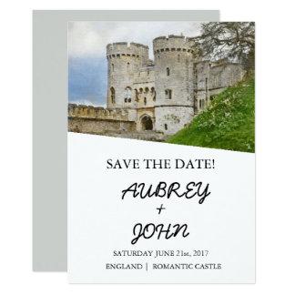 Economias inglesas do castelo o convite do