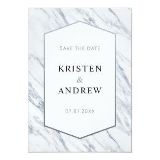 Economias modernas de prata do mármore | o cartão
