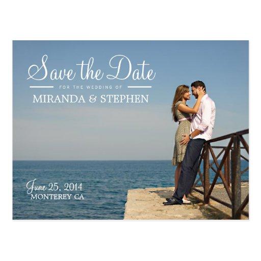 Economias modernas doces do casamento o cartão da  cartao postal
