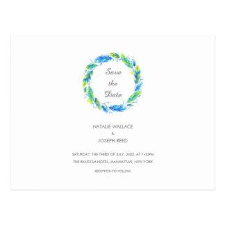 Economias Wedding brilhantes de Boho | o cartão da