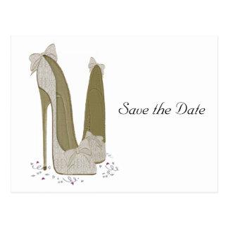 Economias Wedding o cartão da data