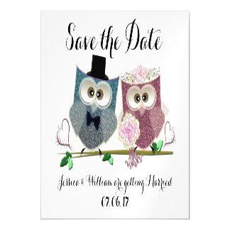 Economias Wedding o cartão magnético da data