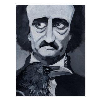 Edgar Allan Poe o cartão do corvo