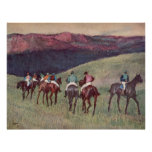 Edgar Degas - cavalos de raça que treinam 1894 cav Posteres