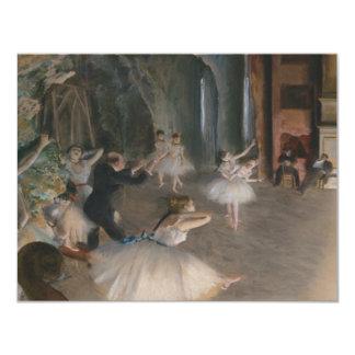 Edgar Degas Convite 10.79 X 13.97cm