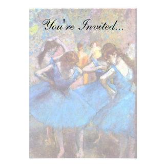 Edgar Degas - dançarinos no azul