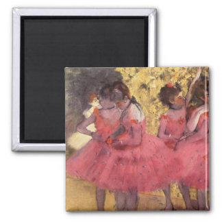 Edgar Degas o ímã cor-de-rosa dos dançarinos Imã