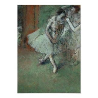 Edgar Degas - um grupo de dançarinos Convites Personalizado
