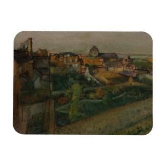 Edgar Degas - vista do Saint-Valery-sur-Somme Ímã