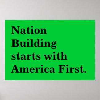 edifício nacional poster