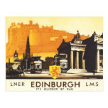 Edimburgo LNER Cartão Postal