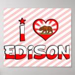 Edison, CA Posteres