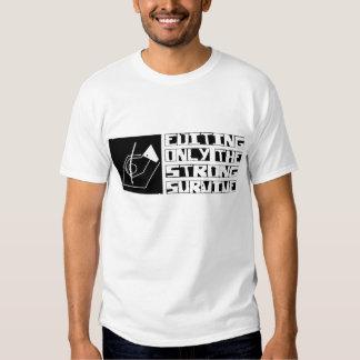 Editar sobrevive camiseta