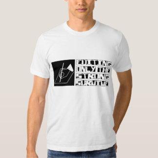 Editar sobrevive tshirts